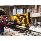 UDR350 на работе в тоннеле метро