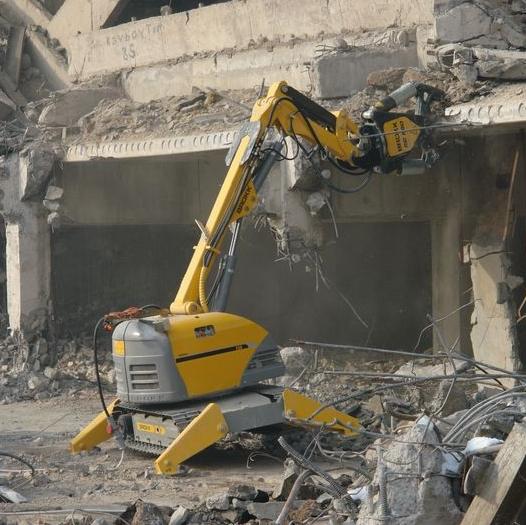 Демонтаж монолитных конструкций